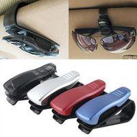 1Pcs Multi-Function Glasses Case Auto Car Accessories Sunglass Eyeglasses Holder Card