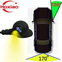 HoXiao Vehicle Right blind spot Car rear view camera Parking System Two Video