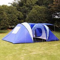 GOPLUS 6-8 Person/Man Waterproof 2 1 Room Hiking Camping