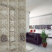 solid wood modern tiles minimalist living room Partition