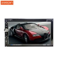 F6065B 2Din 6.95 Inch HD Touch Screen Car MP3 CD DVD Player Stereo Audio Radio Autoradio Bluetooth Auto  Video USB FM