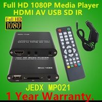 JEDX Full HD Multi Media Player 1080P TV Video HDMI YPbPr USB AV SDHC MKV AVI RM RMVB