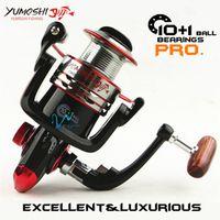 yumoshi Vw Fishing reel Meatal main body Spinning carp CNC rocker Strength Rod