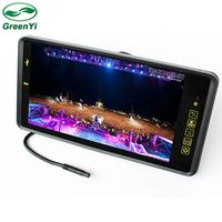 GreenYi HD 720P 9 Inch Car Mp4 MP5 Video Player Auto Parking Monitor Support Rear