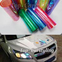 Various Color Chameleon Headlight Film Car Taillight Fog Vinyl PROTWRAPS NEO CHROME