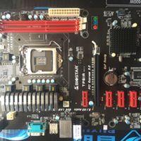 Free shipping original motherboard for Biostar TP61A 6 * PCIE socket LGA1155 DDR3 H61 mining motherboards