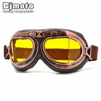 BJMOTO Motocross Motorcycle Enduro Off Road Racing Windproof Glasses Goggles Clear