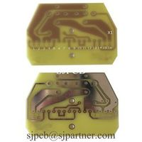 SJPCB No Soldermask Silkscreen Only Copper Etching Board