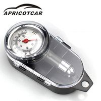 APRICOTCAR Multi - Functional Mechanical Car Box Loaded Tire Pressure Gauge Can Be