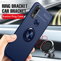 MAODI Luxury Car Bracket Ring Magnetic TPU Protective Case For Huawei P20 Mate 20