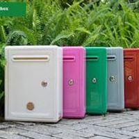Plastic letter Home cartoon decoration mailbox bank company