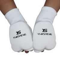 Free Size Karate Muay Thai Taekwondo Training Hand Palm Protectors Guard Support Brace Sanda Fight Gears DPBO