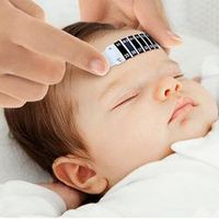 Baby Thermometer Reusable Flexible Toddler Forehead Care Health Monitors