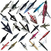 yeseje 12ps/LotVariety stainless steel arrow broadheads for hunting archery Apply to