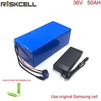 Riskcell DIY ebike battery 1000W electric bicycle battery 36v 50ah electric bike