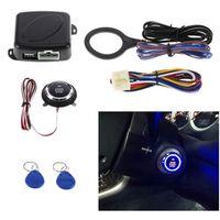 KKMOON Auto Car Alarm Push Button Start Stop Engine Starline RFID Lock Ignition