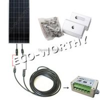 DC House USA Stock 150 Watt COMPLETE KIT Off Grid system PV Solar Panel for 12V