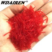 WDAIREN 50pcs/lot fishing lures Smell soft bait artificial Simulation fishing
