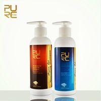 PURC Argan Oil hair shampoo and hair conditioner set free shipping  Hair Care Best hair salon product