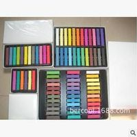 6 Colors/set Hair chalk hair color pen dye stick customized crayons