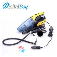 Digitalboy Multi-function Cleaner Vacuum 12V Tire Inflated LED Light 120W Car Clean