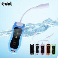 Hifi 4GB Swimming Diving Waterproof MP3 Player Sport Mini Clip MP3 Music Player With FM Radio Headphones Hot Selling Black Green