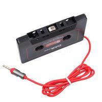 kebidumei Universal Car Tape Adapter Cassette Mp3 Converter 3.5mm Jack Plug Player