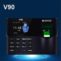ZJMZYM V90 fingerprint attendance punch card work sign machine