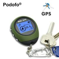 Mini Handheld GPS Navigation Receiver Location Finder USB Rechargeable with Electronic Compass for Outdoor Travel