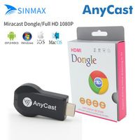 SINMAX AnyCast M2 Plus Wireless WiFi Display Dongle Receiver 1080P HDMI TV Stick