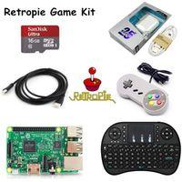youe shone retropie Kit Raspberry Pi 3 Model B 16GB SD Card HDMI Cable Keyboard Game