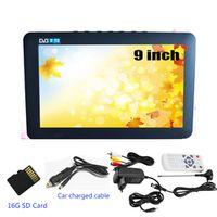 LEADSTAR Portable High Resolution 9 Inch DVB-T-T2 Digital Analog Support USB Card