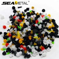 SEAMETAL 200pcs Fastener Universal Door Trim Rivet Bumper on Auto Festener Clip Panel