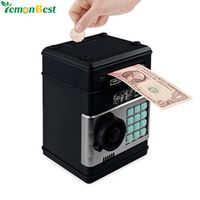 LemonBest Electronic Piggy Bank Password Money Box Cash