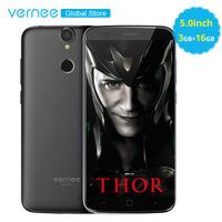 "Vernee Thor 5.0"" On-Cell Display 3GB RAM 16GB 4G MobilePhone MT6753 Octa Core 2800mAh"