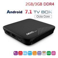 MECOOL M8S PRO Smart TV Box Max Android 7.1 RAM 2GB 3GB DDR4 ROM 16GB
