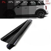 50cmx300cm Dark Black Car Window Tint Film Glass Solar Protection