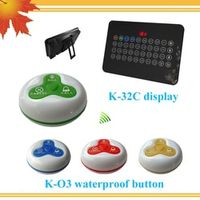 New Wireless Paging Calling System Restaurant Call Button Pager 32 Channels Restaurant Equipment