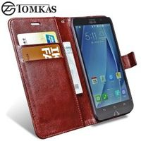 Tomkas Case For ASUS ZenFone Flip Wallet Leather Phone Bag Cover For