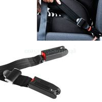 QILEJVS Car Child Safety Seat Isofix/Latch Soft Interface Connecting Belt Fixing Band