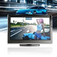 CATUO 5 Inch Car Auto TFT LCD HD Digital 5:3 800*480 Screen Display Rear View Backup