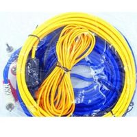 60W 4m length Professional  Speaker Installation Wires Cables Kit  Car Audio Wire Wiring Amplifier Subwoofer