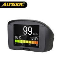 AUTOOL X50 Plus Multi-Function Car OBD Smart Alarm Water Temperature Gauge Digital