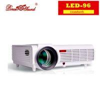Poner Saund 5500lumens Native Full HD 3D 1080P Home Cinema LED TV Projector