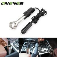 Onever Portable Safe Drink 12V Car Immersion Auto Electric Tea Coffee Soup Water