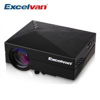 Excelvan MINI Portable LED Projector 800*480 1200Lumens For Video Games Home Theater
