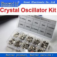 200PC/LOT Crystal Oscillator Kit Assortment Set 20pcs
