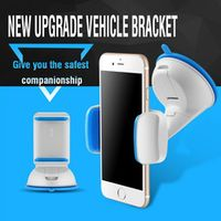 sikeo for Phone in Car 7 Colors ABS Universal Desk Mount Phone Holder Stand