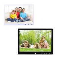CARPRIE 12 inch Vertical Hi-definition HD LCD Foto Digital Photo Frame Clock