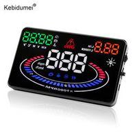 kebidumei Car HUD OBD 2 E300 EUOBD Driving Head Up Display Car Speed Fuel Consumption